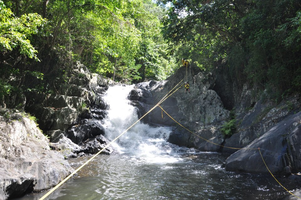 Cairns Canyoning Tour   Abseiling, Ziplining & Cliff-jumping