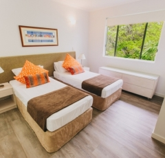3rd Bedroom - On the Beach Port Douglas Apartments