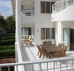 4 Bedroom Beachfront Alamanda Suite Balcony - Alamanda Palm Cove Resort