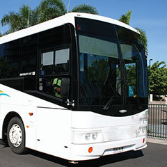 Cairns Beaches Private Coach Hire