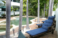 Relax in comfort by the pool