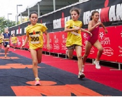 McDonalds IRONKIDS Cairns triathlon
