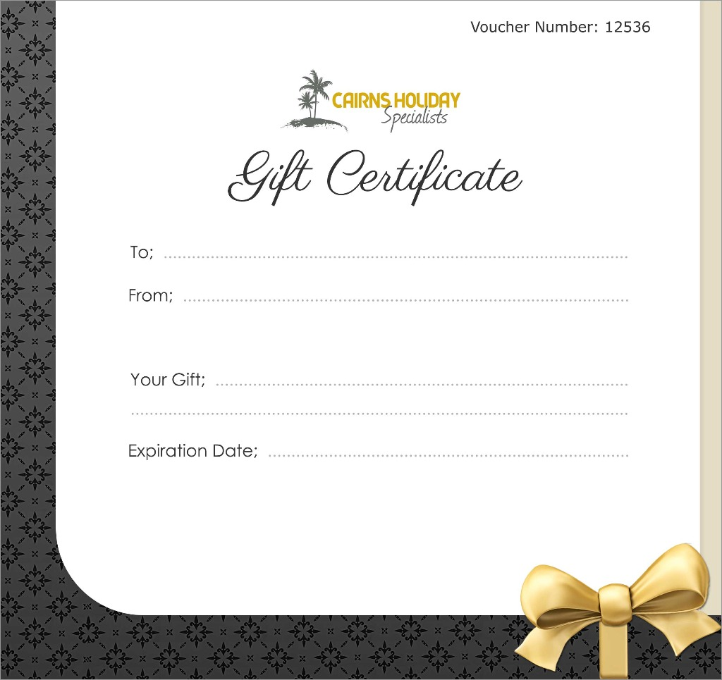 Gift Vouchers  Make Your Own Voucher