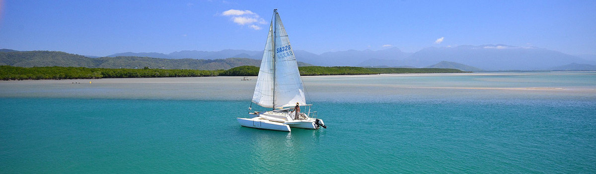Sailing in Port Douglas