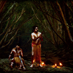 Aboriginal Cultural Dinner In The Rainforest