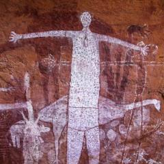 Sample of Aboriginal Rock Art at Laura Cape York