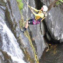 Abseiling - Cairns Canyoning Tour