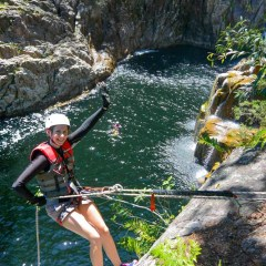 Abseiling Adventure Tour Behana Gorge