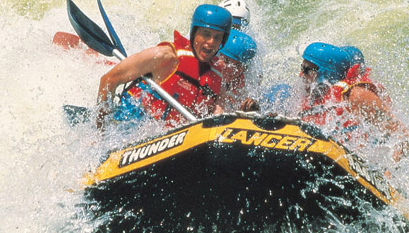 Adrenaline Pumping White Water Rafting