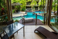 Adults only resort - Swim out rooms Port douglas