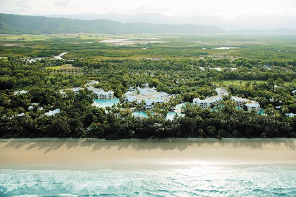 Sheraton Mirage Resort Port Douglas located on Four Mile Beach