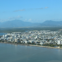 Aerial View Of Cairns | Tropical North Queensland Coastline Scenic Flight