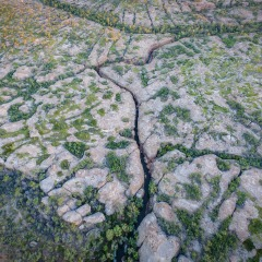 Aerial view of Cobbold Gorge