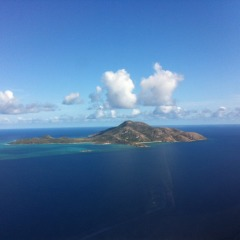 Cape York Scenic Flights - Aerial view of Lizard Island