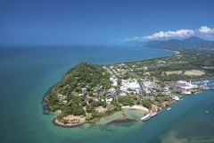 Aerial View Of Port Douglas And Its Marina