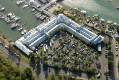 Aerial View Of Port Douglas Reef Marina And Shopping Complex | Shopping For Teenagers