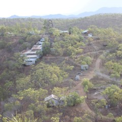 Cairns Helicopter Flights - Aerial View of Tyrconnell Old Gold Mining Town