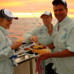 Afternoon Tea Cairns Fishing Charter