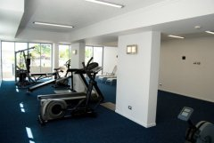 Airconditioned Gym with Sauna - Vision Apartments Cairns Esplanade