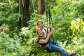 All Smiles on the Rainforest Zipline - Daintree Cape Tribulation Ziplining Tour