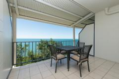 Ocean View Studio - Amaroo Resort Balcony with Ocean Views over Trinity Beach