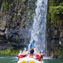 Amazing scenery on your White Water Rafting on the Barron Gorge