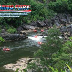 Amazing views as you cruise down the Barron River in Cairns