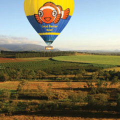 Amazing Views from Hot Air Balloon - Snorkel and Hot Air Balloon Combo