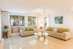 Open plan living in the Holiday Apartments at Amphora Private Holiday Apartments - Palm Cove