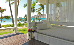Relax on your day bed in the stunning Beachfront Suite - Lizard Island All Inclusive Resort