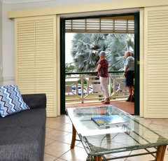 Apartments located Cairns Esplanade