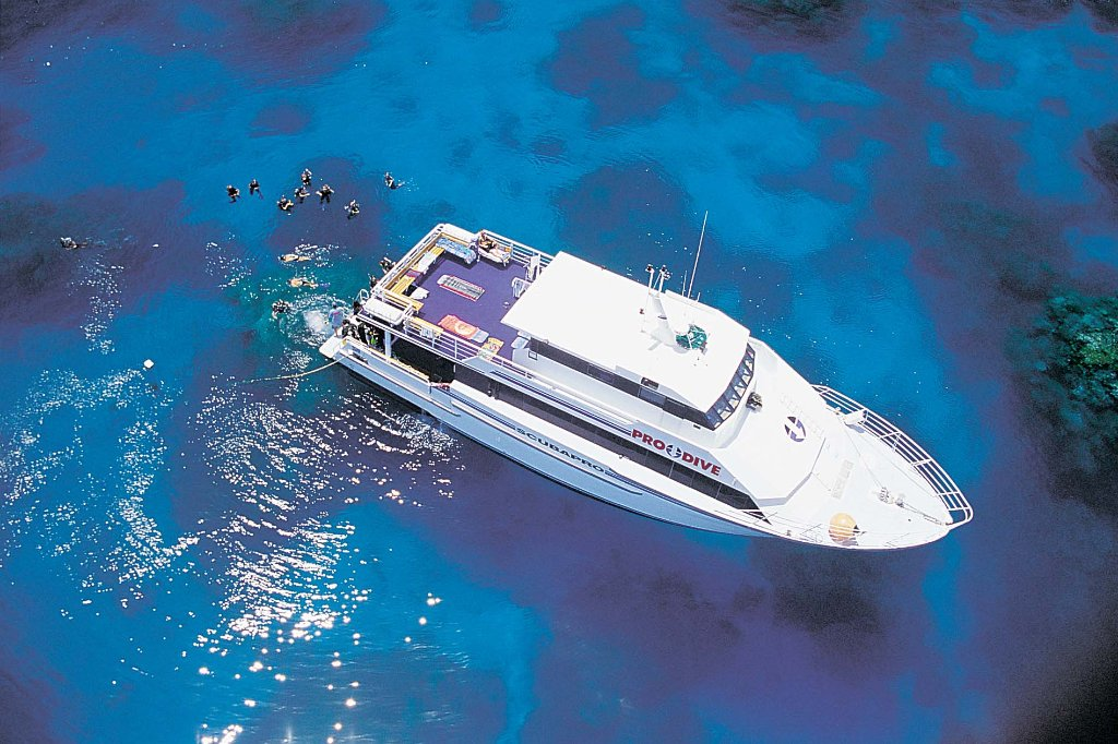 Cairns best dive trips 3 day 2 night liveaboard certified divers snorkellers great - Pro dive cairns ...
