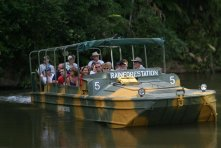 Army Duck Rainforestation CIAF Tours