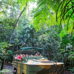 Army Duck Tour Only At Rainforestation Nature Park