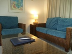 Port Douglas resort holiday apartment Lounge Room