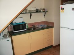 Two Bedroom Apartment Kitchen Facilities - Atherton Blue Gum B&B