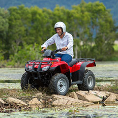 ATV Quad Bike Tours And Giddy Up Horse Riding