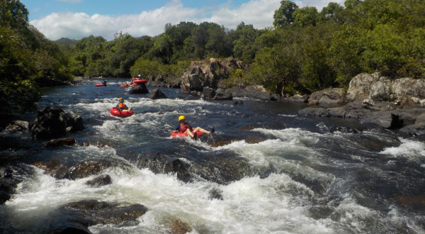 Behana Gorge Aussie Drifters Cairns River Tubing | Half Day Tour