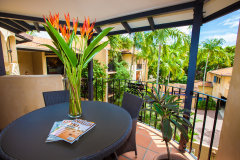 Private Balcony in each holiday apartment - Villa San Michele Apartments Port Douglas