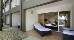 Balcony and Patios available on most Rooms and Suites - Paradise On the Beach Resort Palm Cove