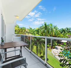 Balcony and Views from Red Cowrie Apartment - Palm Cove