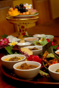 Balinese Cuisine at Bayleaf Restaurant - Room Service available