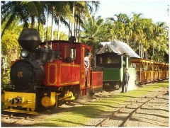 Bally Hooley Steam Train in Port Douglas