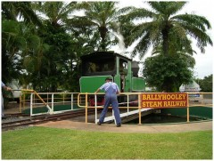 Bally Hooley Train Turn-around Station