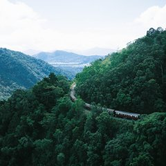 Barron Valley Views with Kuranda Scenic Train