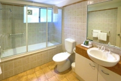 Bathroom facilities in your private holiday apartment