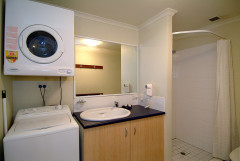 Bathroom & Laundry Facilities - Trinity Beach Club Holiday Apartments
