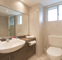 Bathroom with Shower at Red Cowrie Apartment - Palm Cove