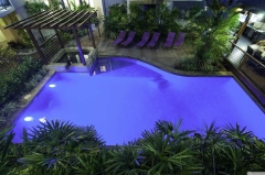 BBQ and Tropical Swimming Pool at Bay Villas Resort Port Douglas