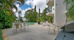 BBQ Facilities by the Pool - Cairns holiday apartments